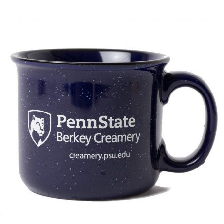 Blue Penn State Berkey Creamery coffee mug