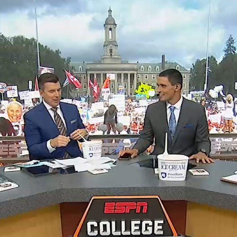 ESPN College Game Day Samples White Out