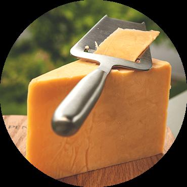 Creamery cheddar cheese
