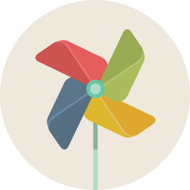 Pinwheel illustration